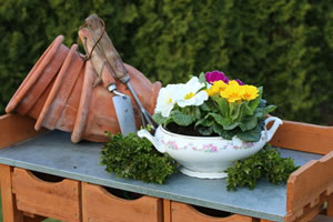 Pflanztisch aus holz preise und tipps zum bauen for Was kostet gartenarbeit