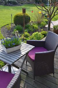 terrassengestaltung grundlagen tipps. Black Bedroom Furniture Sets. Home Design Ideas