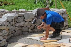 Steinmauer bauen kosten