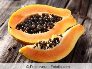 Papaya-Frucht