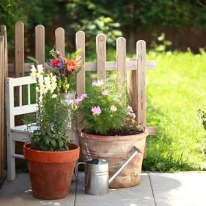 Gartengestaltung mit Terrakotta