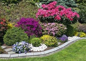 blumenbeet anlegen - ideen zum gestalten, Garten ideen