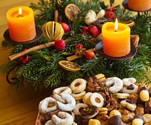 sch ne ideen zur adventsdekoration dekoration im advent. Black Bedroom Furniture Sets. Home Design Ideas