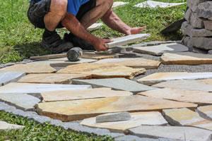 Gehwegplatten Verlegen Anleitung Garten Gehwegplatten Verlegen Von