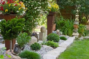 Steingarten anlegen gestaltung und bepflanzung for Landscaping rocks visalia ca